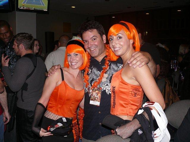 Rick and Jagermeister girls