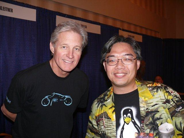 Me and Bruce Boxleitner