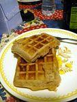 Meatwaffles for breakfast