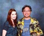 Me and Felicia Day