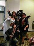 Wolverine, vampire girl, KISS guy, Rick