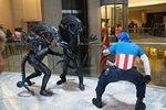 Aliens vs Captain America