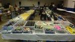 Hamfest vendor tables