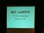 M.E. LaZerte '87 20th Reunion