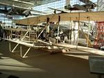 Replica of the Wright brothers' aircraft